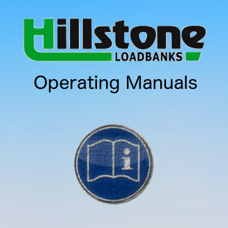 Operating manuals for hire loadbanks